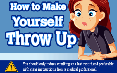 How To Make Yourself Throw Up Infographic F