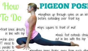 Pigeon Yoga Pose F