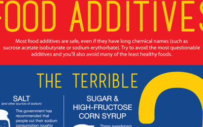 Food Additives Infographic F