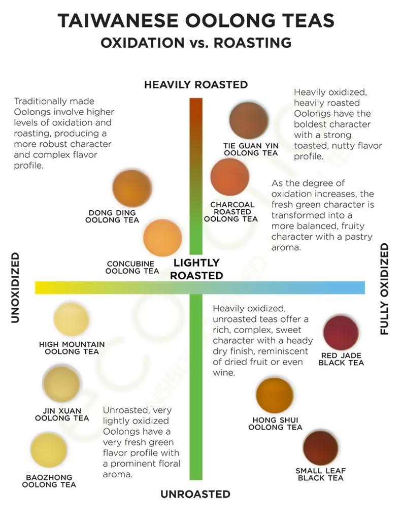 Oolong Tea Infographic