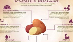 Potato Nutrition Infographic F