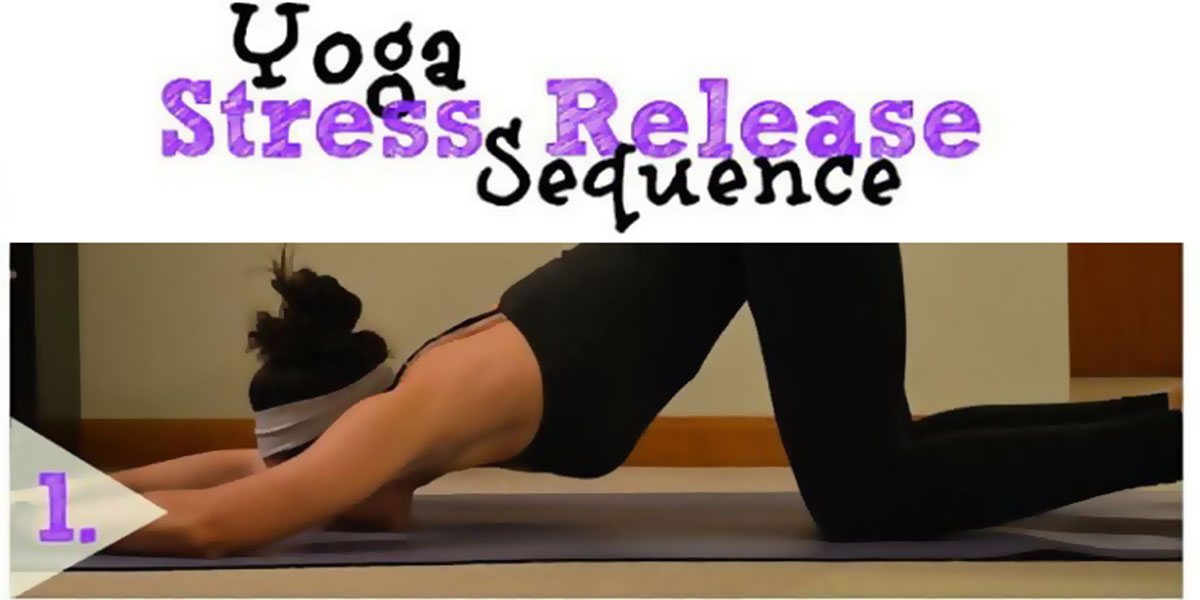Stress Release Yoga Sequence F