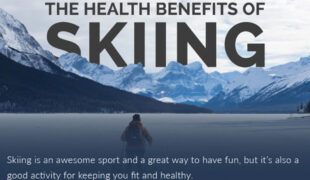 The Health Benefits Of Skiing Infographic F